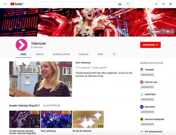optimalisatie youtubekanaal