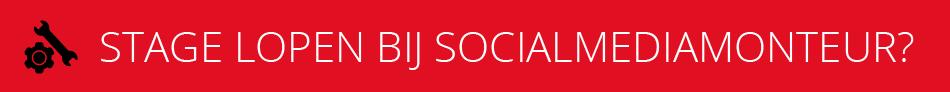 Stage lopen bij SocialMediaMonteur