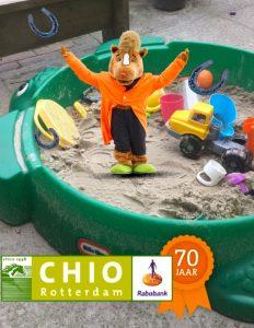 Chico in de verkeerde zandbak