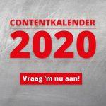 content kalender 2020